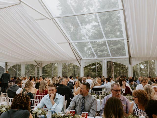 Scott and Tyneille's wedding in Sylvan Lake, Alberta 62