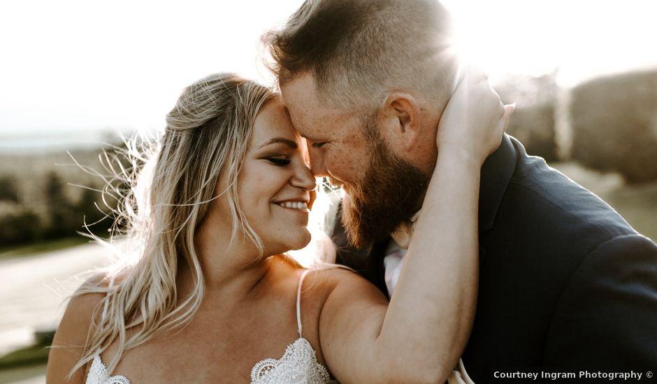 Scott and Tyneille's wedding in Sylvan Lake, Alberta