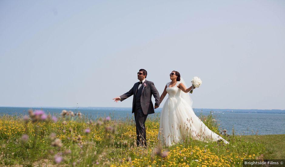 Marc and Chantal's wedding in Burlington, Ontario