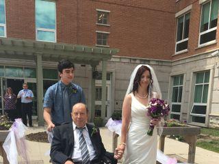 The wedding of Melanie  and Geordie  1