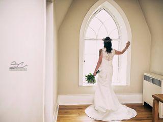 The wedding of Melanie  and Geordie  2