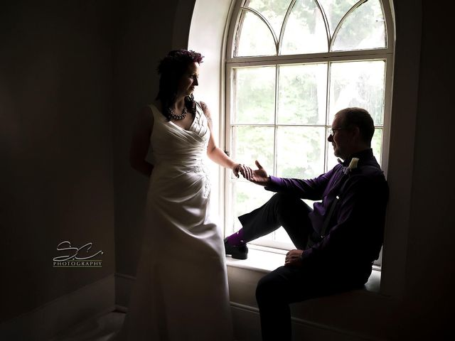 The wedding of Melanie  and Geordie