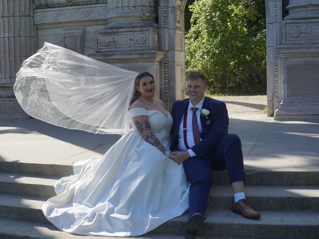 The wedding of Jaimie and Tyler