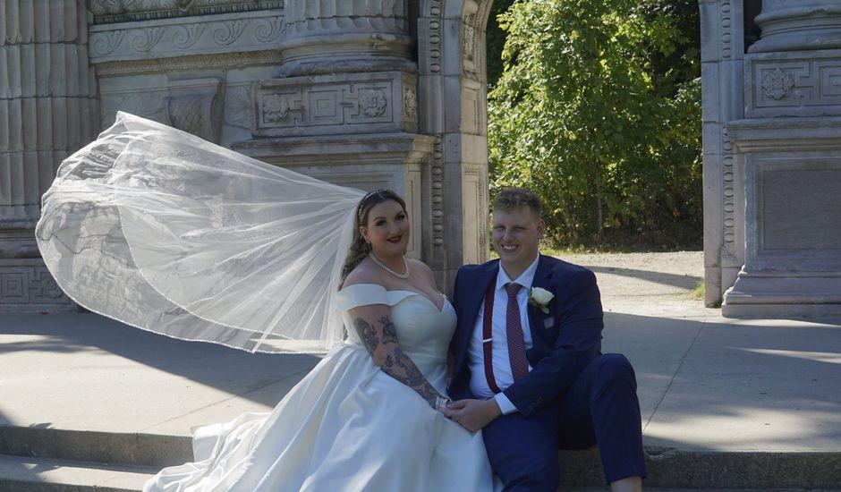 Tyler and Jaimie's wedding in Scarborough, Ontario