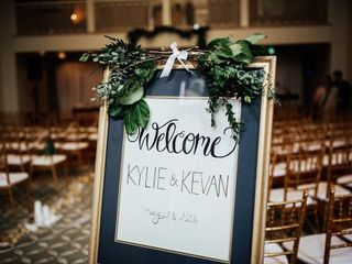 The wedding of Kylie and Kevan 2