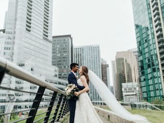 The wedding of Kylie and Kevan