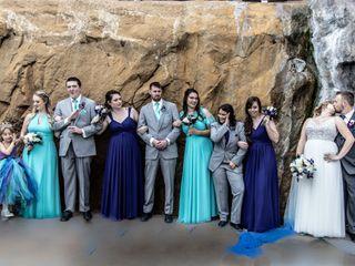 The wedding of Allison and Kane