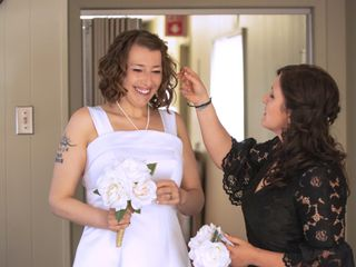 The wedding of Jen and Matt 2