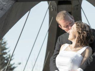 The wedding of Jen and Matt