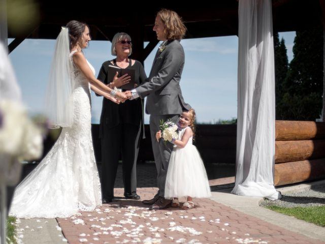 Stuart and Angela's wedding in Parksville, British Columbia 2