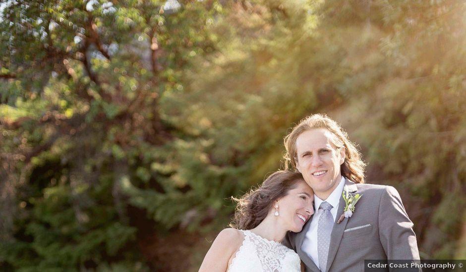 Stuart and Angela's wedding in Parksville, British Columbia