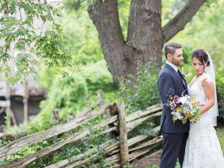 The wedding of Vanessa and Michael