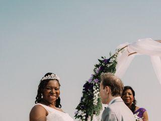 The wedding of Karen and Murray 2