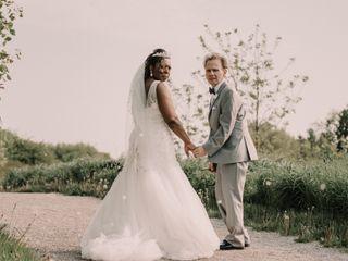 The wedding of Karen and Murray