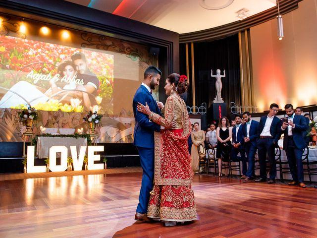 Abbas and Aajab's wedding in Toronto, Ontario 33
