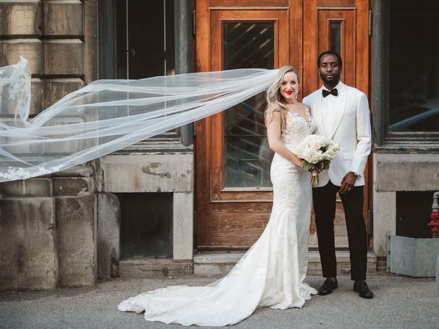 Bongai and Christy's wedding in Montreal, Quebec 5
