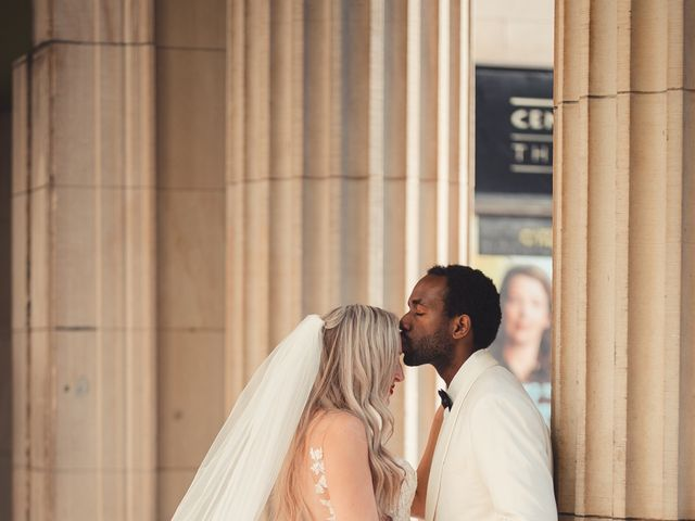 Bongai and Christy's wedding in Montreal, Quebec 6