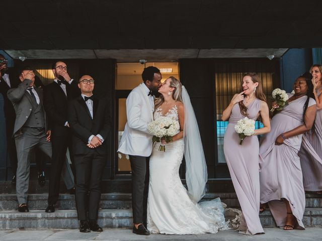 Bongai and Christy's wedding in Montreal, Quebec 14