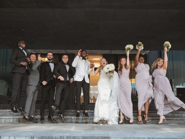 Bongai and Christy's wedding in Montreal, Quebec 15