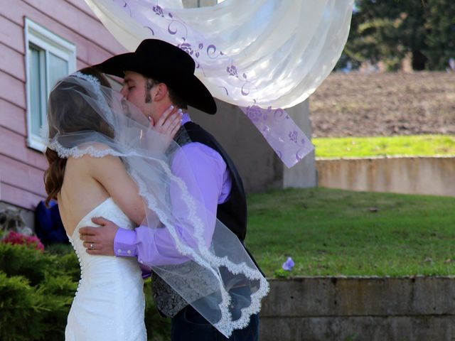 Mike and Arianna's wedding in Armstrong, British Columbia 7