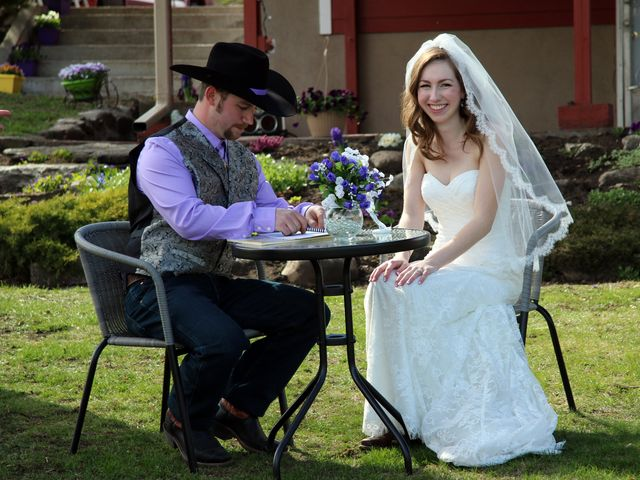 Mike and Arianna's wedding in Armstrong, British Columbia 8