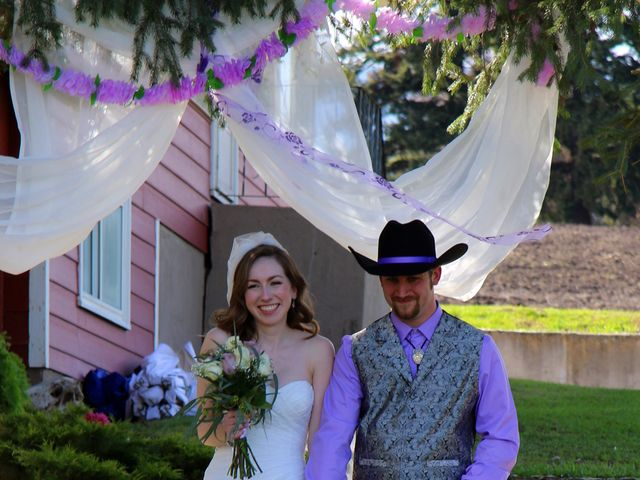 Mike and Arianna's wedding in Armstrong, British Columbia 2