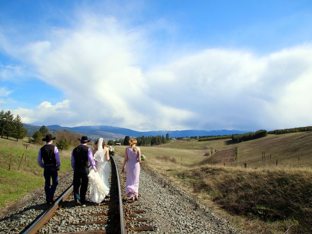 Mike and Arianna's wedding in Armstrong, British Columbia 16