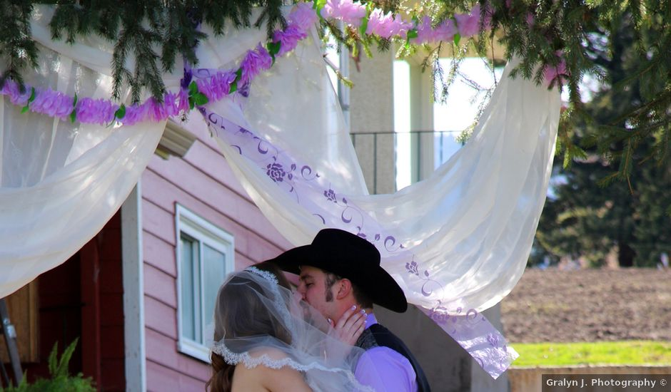 Mike and Arianna's wedding in Armstrong, British Columbia