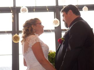 The wedding of Heather and Rick 1