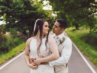 The wedding of Ramona and Matthew