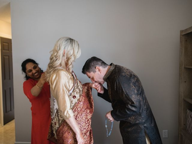 Kashyap and Lauren's wedding in Niagara Falls, Ontario 7