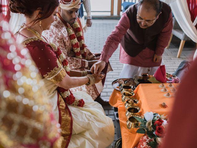 Kashyap and Lauren's wedding in Niagara Falls, Ontario 41