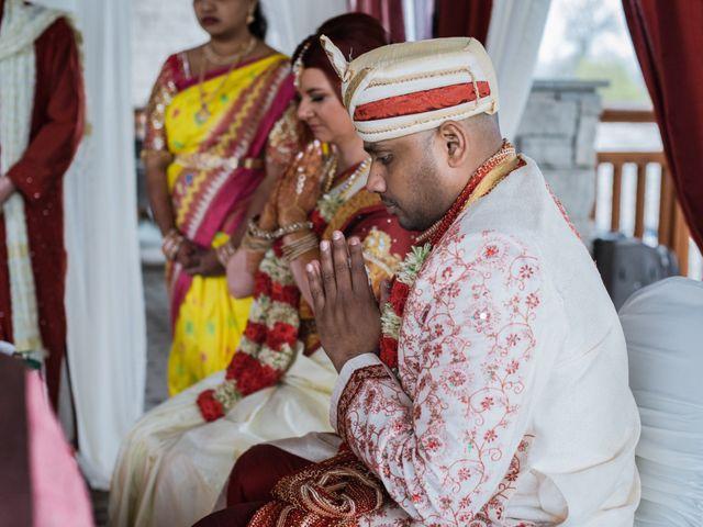 Kashyap and Lauren's wedding in Niagara Falls, Ontario 50