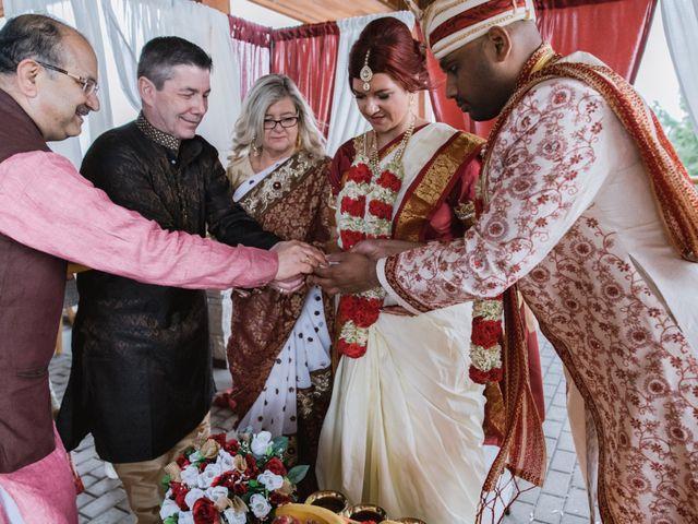 Kashyap and Lauren's wedding in Niagara Falls, Ontario 54