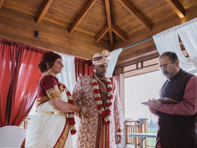 Kashyap and Lauren's wedding in Niagara Falls, Ontario 57