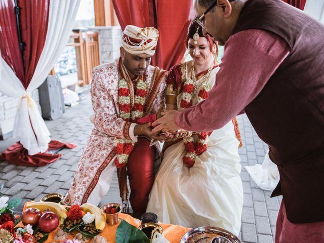 Kashyap and Lauren's wedding in Niagara Falls, Ontario 82