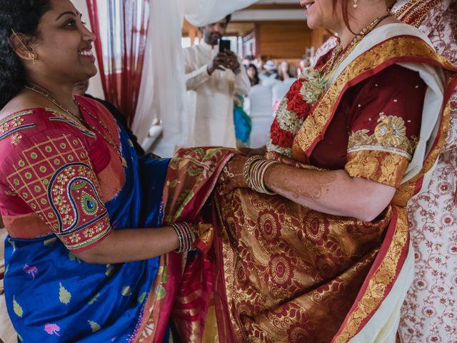 Kashyap and Lauren's wedding in Niagara Falls, Ontario 85