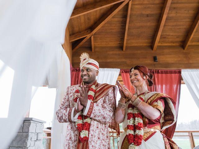Kashyap and Lauren's wedding in Niagara Falls, Ontario 90