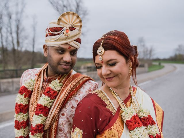 The wedding of Lauren and Kashyap