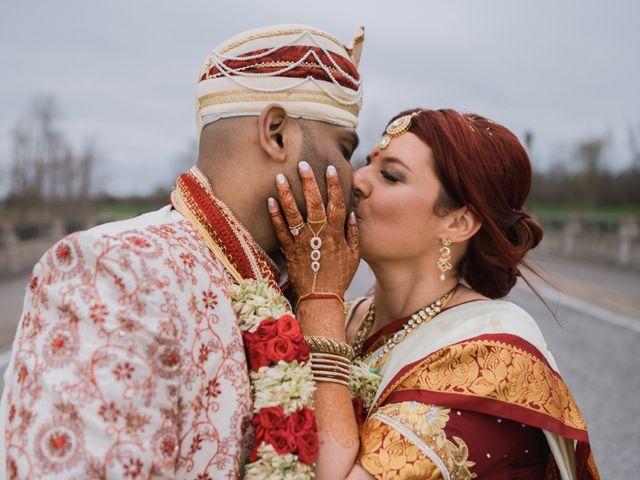 Kashyap and Lauren's wedding in Niagara Falls, Ontario 96