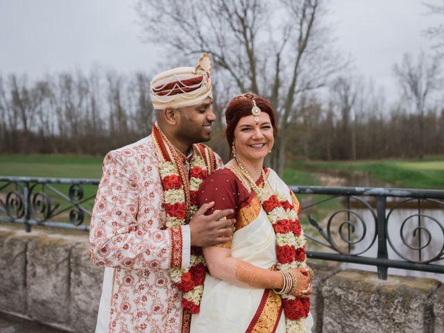 Kashyap and Lauren's wedding in Niagara Falls, Ontario 97