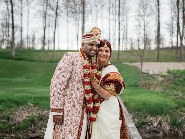 Kashyap and Lauren's wedding in Niagara Falls, Ontario 98