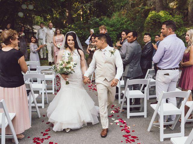 Matthew and Ramona's wedding in Port Coquitlam, British Columbia 2