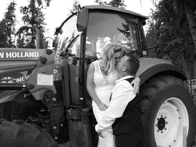 James and Deb's wedding in Armstrong, British Columbia 16