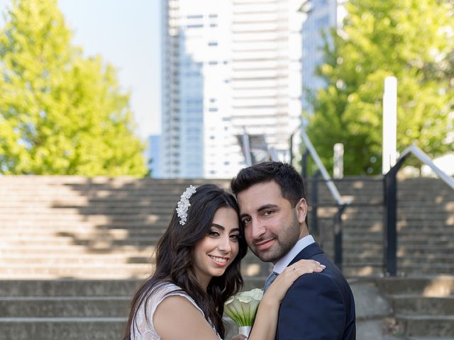Jehan and Myriam's wedding in Vancouver, British Columbia 28