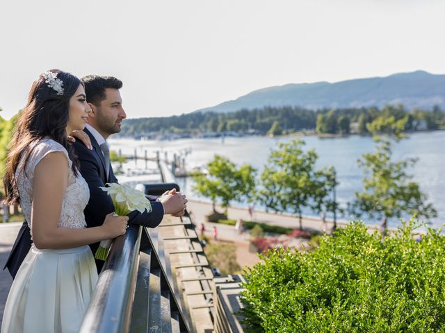Jehan and Myriam's wedding in Vancouver, British Columbia 29