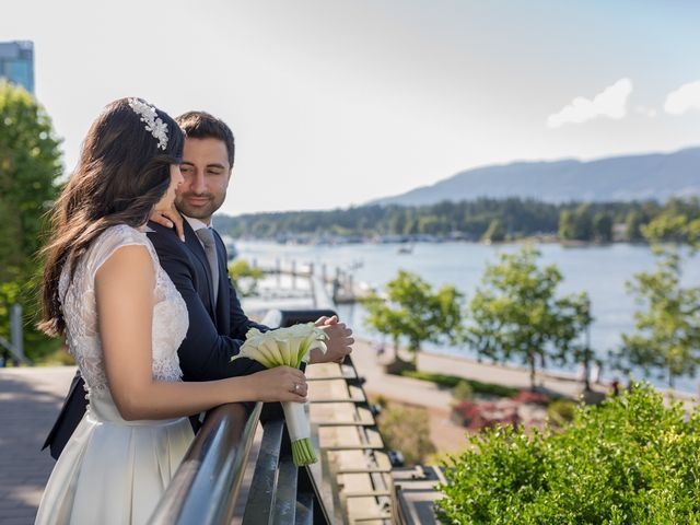 Jehan and Myriam's wedding in Vancouver, British Columbia 30