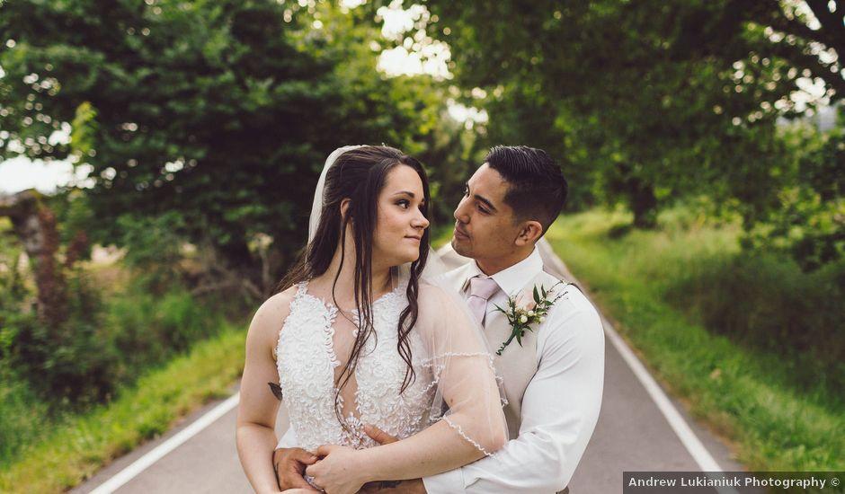 Matthew and Ramona's wedding in Port Coquitlam, British Columbia