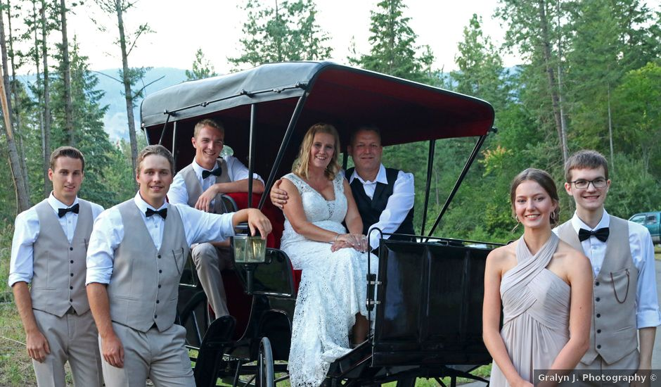 James and Deb's wedding in Armstrong, British Columbia