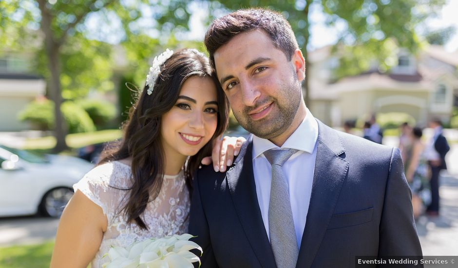 Jehan and Myriam's wedding in Vancouver, British Columbia